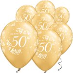Little Hearts 50th Anniversary Balloons - 11