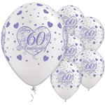 Little Hearts 60th Anniversary Balloons - 11