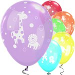 Cute & Cuddly Jungle Animals Assorted Balloons - 11