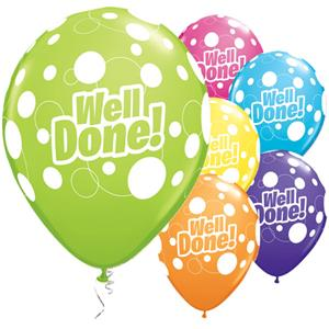 Well Done! Dots Balloons - 11
