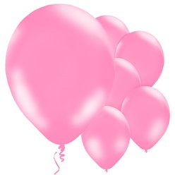 "Pink Balloons - 11"" Latex"