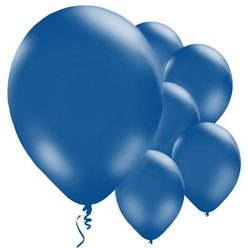 "Royal Blue Balloons - 11"" Latex"