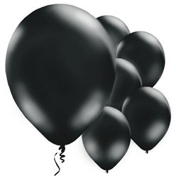 Black Balloons - 11'' Latex
