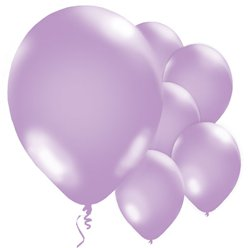 "Violet Balloons - 11"" Metallic Latex"
