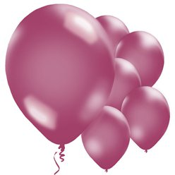 "Burgundy Balloons - 11"" Metallic Latex"