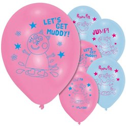 Peppa Pig Balloons - 11'' Latex