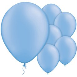 "Neon Blue Balloons - 11"" Latex"