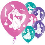 "Disney Princess 4 Sides Balloons - 11"" Latex"