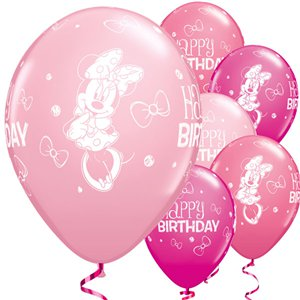 Minnie Mouse Balloons - 11'' Latex