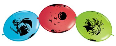 "Star Wars Quicklink Balloons - 12"" Latex"