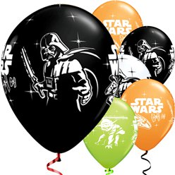 Star Wars Balloons - 12'' Latex - 6 pack
