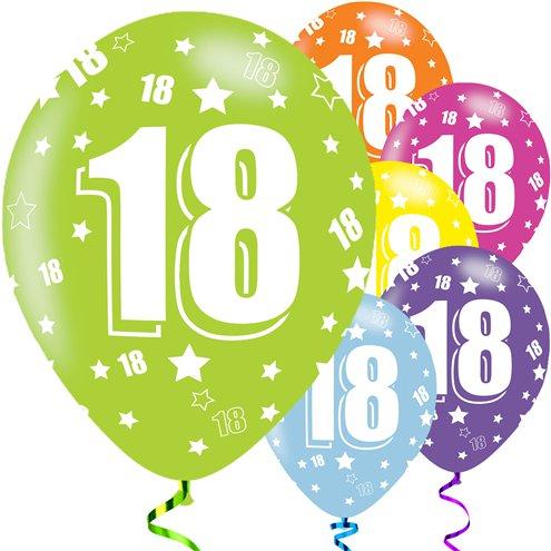 18th Birthday Assorted Balloons