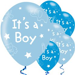 It's A Boy Balloons - 11'' Latex