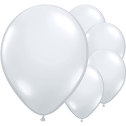 "Diamond Clear Balloons - 16"" Latex"