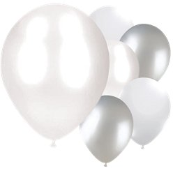 "Metallic Mix Balloons - 11"" Latex"