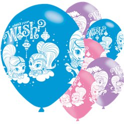 Shimmer & Shine Latex Balloons - 11""