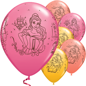 Disney Princess Belle Balloons - 11