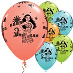 "Disney Moana Balloons - 11"" Latex"
