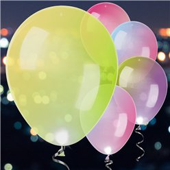 LED Latex Balloons Colour Changing - 11""