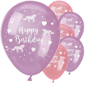 Unicorn Sparkle Balloons - 11
