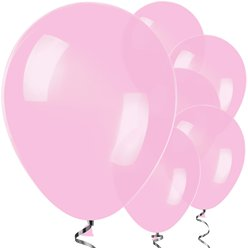 "Pink Balloons - 12"" Latex"