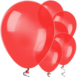 "Red Balloons - 12"" Latex"