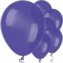 "Violet Balloons - 12"" Latex"