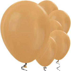 Metallic Gold Balloons - 12