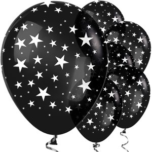 Black Star Balloons - 12