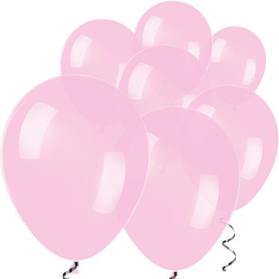 "Pink Mini Balloons - 5"" Latex Balloons"