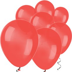 "Red Mini Balloons - 5"" Latex Balloons"
