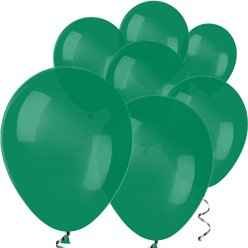 Forest Green Mini Balloons - 5