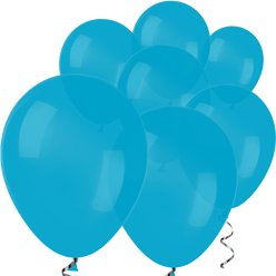 "Blue Mini Balloons - 5"" Latex Balloons"
