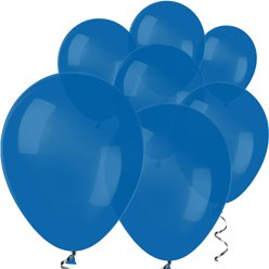 "Royal Blue Mini Balloons - 5"" Latex Balloons"