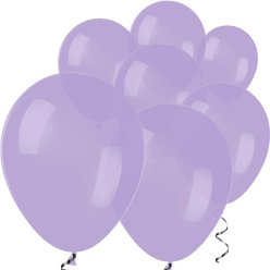 "Lilac Mini Balloons - 5"" Latex Balloons"