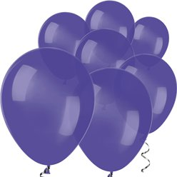 "Violet Mini Balloons - 5"" Latex Balloons"