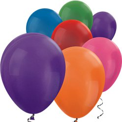 "Assorted Metallic Mini Balloons - 5"" Latex Balloons"