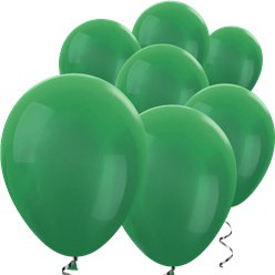 Green Metallic Mini Balloons - 5