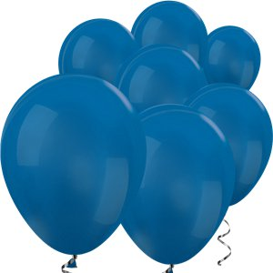 Blue Metallic Mini Balloons - 5