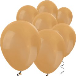 "Gold Metallic Mini Balloons - 5"" Latex Balloons"