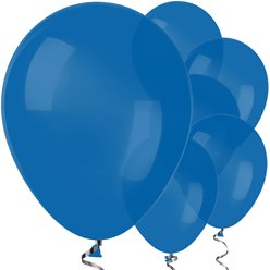 "Royal Blue Balloons - 12"" Latex Balloons"