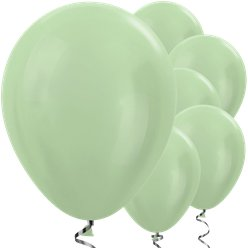 "Green Satin Balloons - 12"" Latex Balloons"