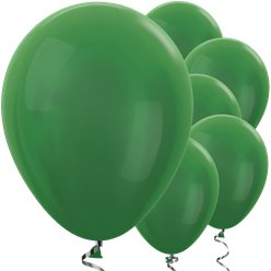 "Green Metallic Balloons - 12"" Latex Balloons"