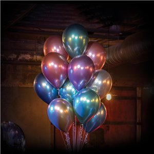 Gold Chrome Balloons - 11