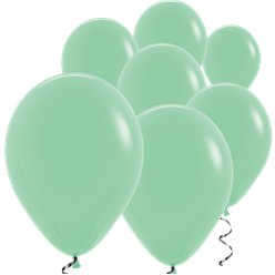 "Mint Green Mini Balloons - 5"" Latex"
