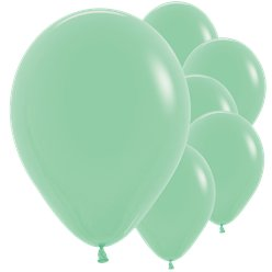 "Mint Green Balloons - 12"" Latex"