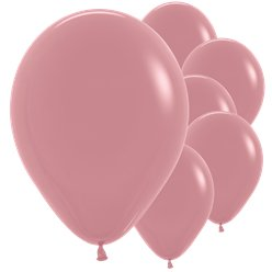 "Rosewood Balloons - 12"" Latex"