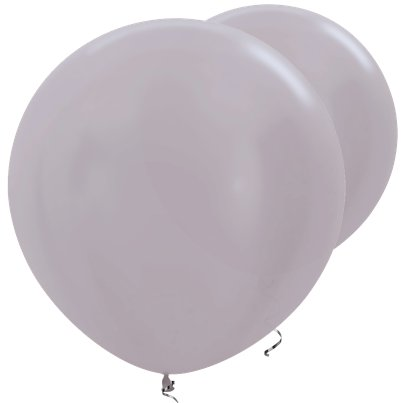 "Greige Satin Giant Balloons - 36"" Latex"