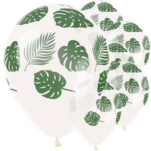 Tropical Leaves Balloons - 12
