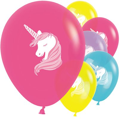 "Unicorn Balloons - 12"" Latex"